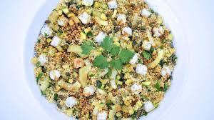 cuisiner le millet salade de millet aux courgettes fenouil et graines de courge