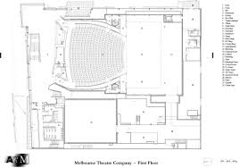 Floor Plan Company by Melbourne Recital Centre And Melbourne Theatre Company Openbuildings