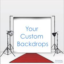 custom photo backdrop custom backdrop bfl