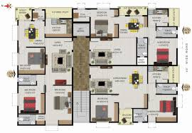 3 Bhk Apartment Floor Plan by Floor Plan 3 Bhk Flats For Sale In Seethammadhara