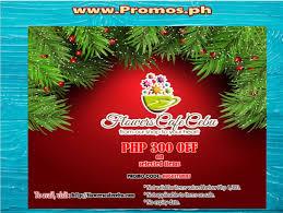 Flowershop Promo Codes Philippines Cebu Flower Shop Promo Php 300 Off