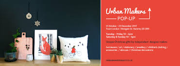 kodes at urban makers east christmas popup shop at fount london