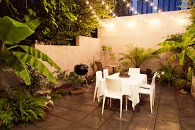 outdoor string lighting ideas patio modern with al fresco barbecue