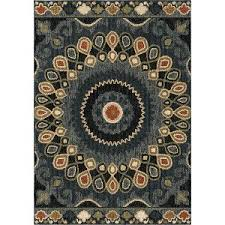 Brown And Blue Rug Rc Willey Sells Beautiful Large Area Rugs For Your Home