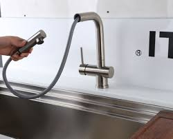 Rv Kitchen Faucet Moen Copper Finish Kitchen Faucet For Rv Home And Interior