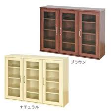 Kitchen Bookshelf Cabinet Bookcase Furniture White Wooden Book Cabinet With Three Open