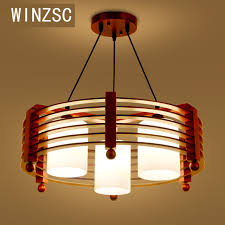 Wooden Chandelier Modern Solid Wooden Modern Chandelier Solid Wood Restaurant Creative