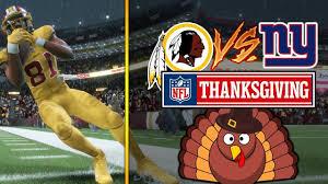 nfl on thanksgiving 11 23 2017 new york giants vs washington