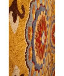 Light Yellow Rug New Vision Collection Design 3614 Light Gold Hri Rugs