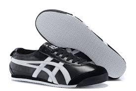onitsuka tiger mexico 66 black and white sneakers cheap australia