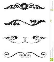 line rule ornaments stock vector image of icon 12963318