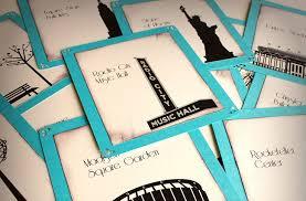 Handmade In New York - york wedding inspiration handmade etsy weddings reception table cards