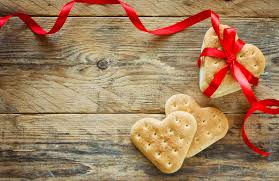 s day cookies s day background cookies shape heart stock image