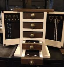 Free Wood Plans Jewelry Box by 9 Free Diy Jewelry Box Plans Ana White U0027s