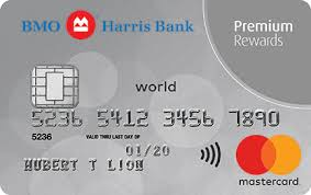 credit cards bmo harris bank