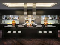 Hotel Kitchen Design The Unexpected Stylish Look Of Black Kitchen Designs