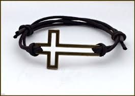 cross cord bracelet images Cross bracelet men 39 s cross cord bracelet cross jewelry popular jpg