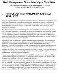 financial analysis templates 7 free word excel pdf documents