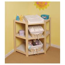 corner baby changing table natural diaper corner baby changing table target
