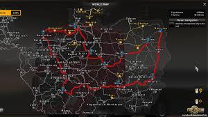 Truck Route Maps Update 1 20 Ermöglicht Detaillierte Routenplanung U2013 Euro Truck
