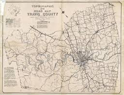Old Map Texas Cities Historical Maps Perry Castañeda Map Collection Ut