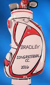 personalized golf ornaments ornaments with