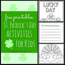 saint patrick u0027s day printables color by number u create