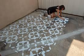 stenciled patios stencil search