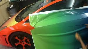 wrapped lamborghini lamborghini gallardo gets rainbow camouflage in malaysia motor1