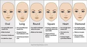 cheek bone length haircut to flatter your face shape