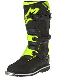 tcx pro 2 1 motocross boots alpinestars black fluorescent yellow tech 1 mx boot alpinestars