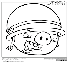 radkenz artworks gallery angry birds coloring corporal pig