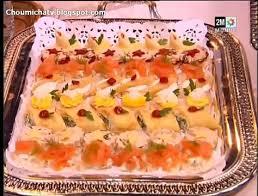 cuisine de choumicha canapés apéritif choumicha recettes