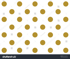 classic gold polka dots wallpaper pattern stock vector 436686934