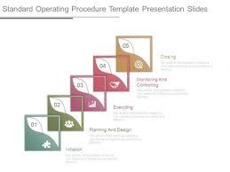 standard operating procedure template presentation slides