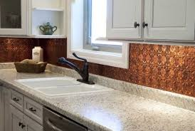 copper backsplash kitchen 10 copper backsplash ideas that add glitter and glam to your