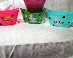 personalized easter buckets easter etsy