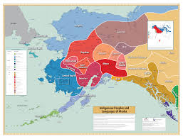 Map Of Alaska And Canada by Southcentral Alaska Science Catalog Indigenous Peoples And