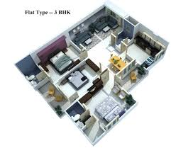 3bhk plan christmas ideas the latest architectural digest home