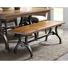 dining room table with bench richmond dining room dining table u0026 4 side chairs 411t4274
