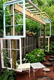 Gartensitzplatz Selber Bauen 55 Ideen Für Gartendeko Aus Alten Fenstern Und Türen