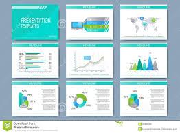 Set Of Vector Templates For Multipurpose Presentation Slides Modern Slide Templates