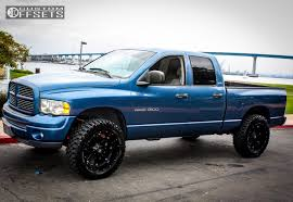 2002 dodge ram rims 2002 dodge ram 1500 fuel hostage leveling kit wh 7 custom rims