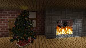 christmas tree made with chisels and bits minecraft project