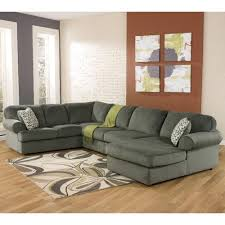 Signature By Ashley Sofa by Signature Design By Ashley Jessa Place Pewter Casual Sectional