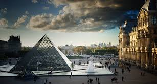 louvre museum at sunset wallpapers bing wallpaper archive