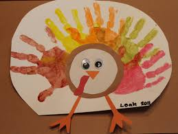 thanksgiving handprint turkey craft the purposeful