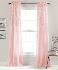 Ruffled Pink Curtains Smart Design Pink Curtain Panels Magnificent Curtains Ideas