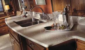 Light Kitchen Countertops Cappuccino Light Quartz Countertops Bay Area California At