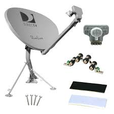 directv hd slimline and dual lnb satellite dish antennas